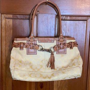 Coach Hampton signature purse